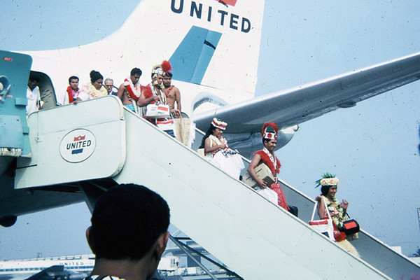 Mainland promo to California, Utah, August 1966; submitted by original PCC employee Stan Natividad, now of Mesa, Arizona