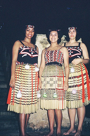 Maori section girls, early 60s (Momi Larsen Wolfgramm, right); submitted by original PCC employee Stan Natividad, now of Mesa, Arizona