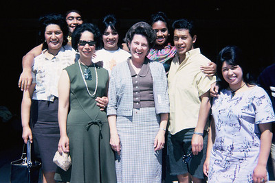 Maoris, friends, during the August 1966 mainland promo; submitted by original PCC employee Stan Natividad, now of Mesa, Arizona