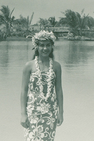 Therese Terooatea Cummings, 1963; submitted by original PCC employee Stan Natividad, now of Mesa, Arizona