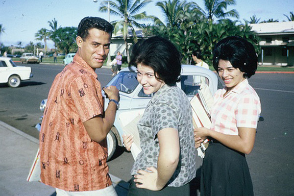 (left-right): Patoa Benioni, Beth McKinnon and Marie Nin, CCH; submitted by original PCC employee Stan Natividad, now of Mesa, Arizona