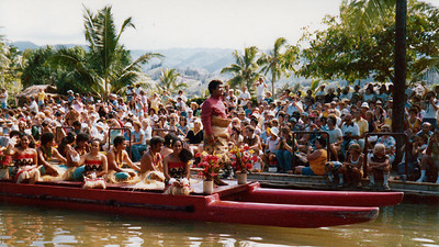 Tongan canoe, 1979; submitted by Jo Cunningham of Washington, Utah