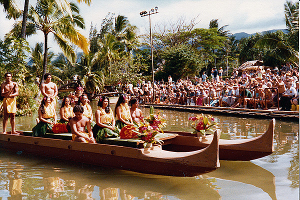 Hawaiian canoe, 1979; submitted by Jo Cunningham of Washington, Utah