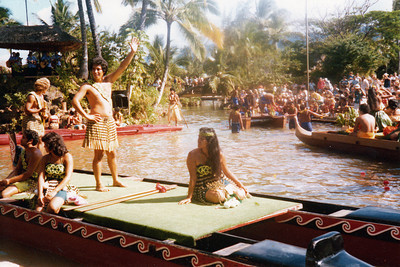 Maori canoe, 1979; submitted by Jo Cunningham of Washington, Utah