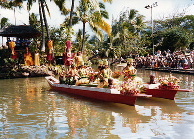 Tahitian canoe, 1979; submitted by Jo Cunningham of Washington, Utah