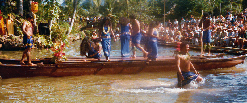 Samoan canoe, 1979; submitted by Jo Cunningham of Washington, Utah